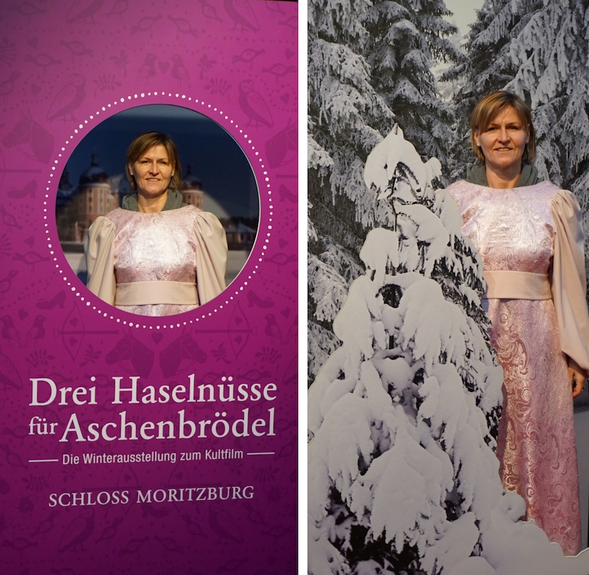 Moritzburg Drehort Drei Haselnüsse für Aschenbrödel, Ausstellung