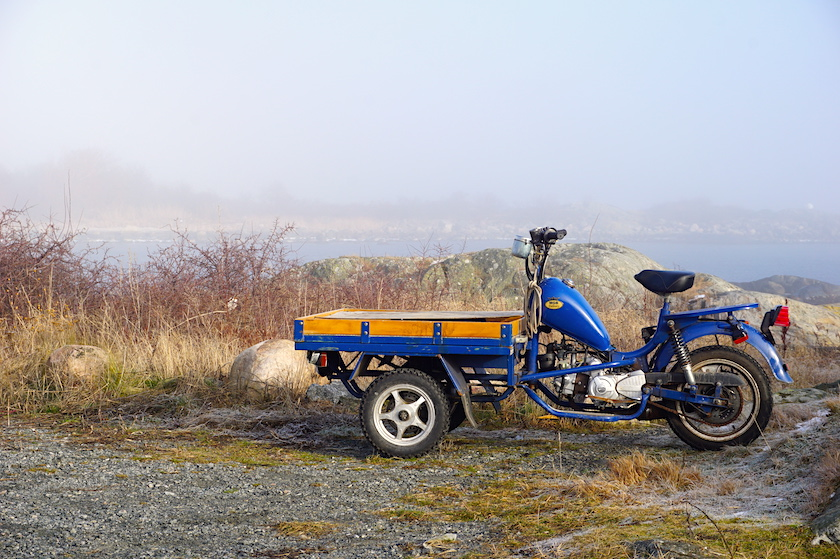 Schärenküste Göteborg Lastenmoped