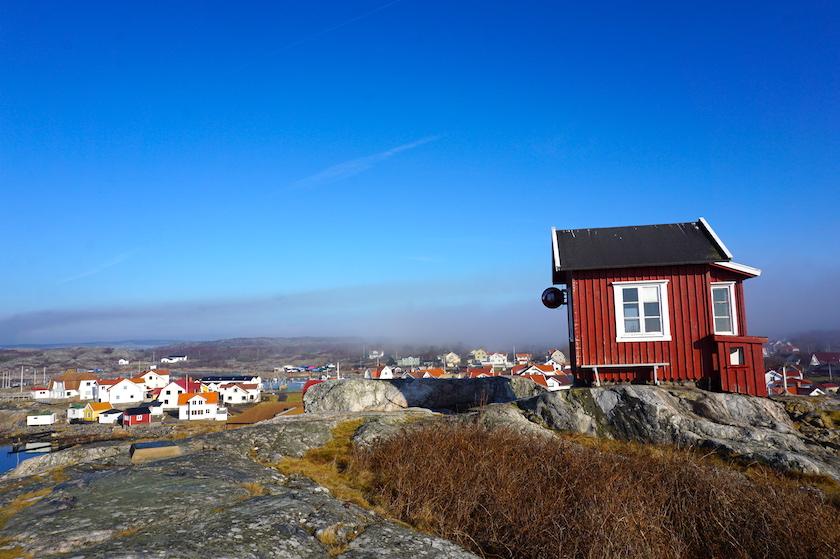 Schäreninsel Vrangö Utkikken Aussichtspunkt
