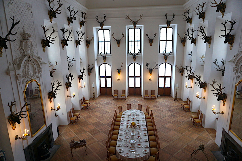 Schloss Moritzburg, Ballsaal Drei Haselnüsse für Aschenbrödel