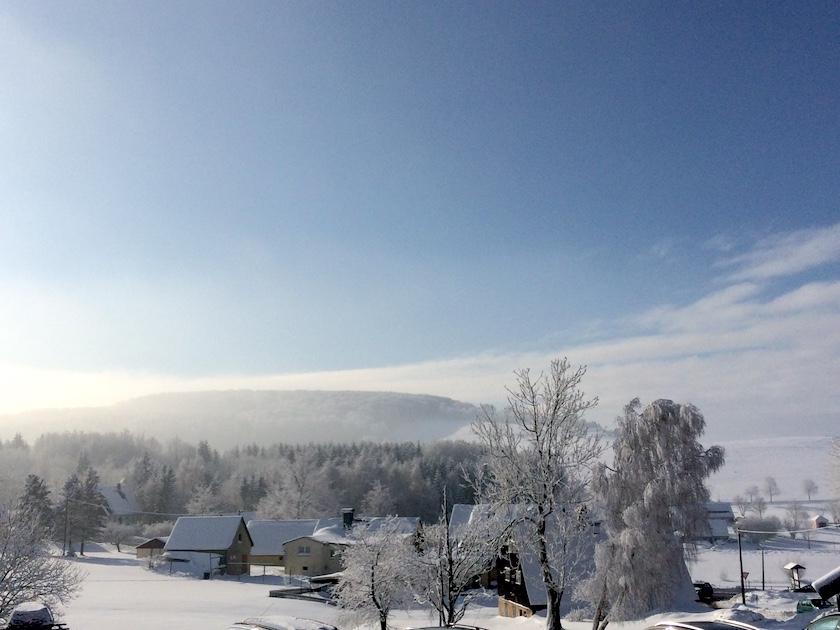 Winterurlaub Erzgebirge, Seiffen