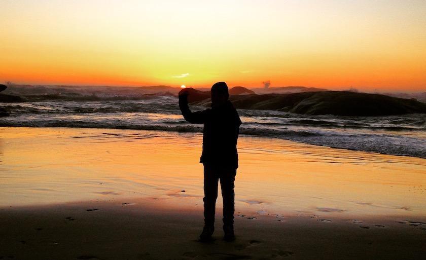 Clifton Sonnenuntergang