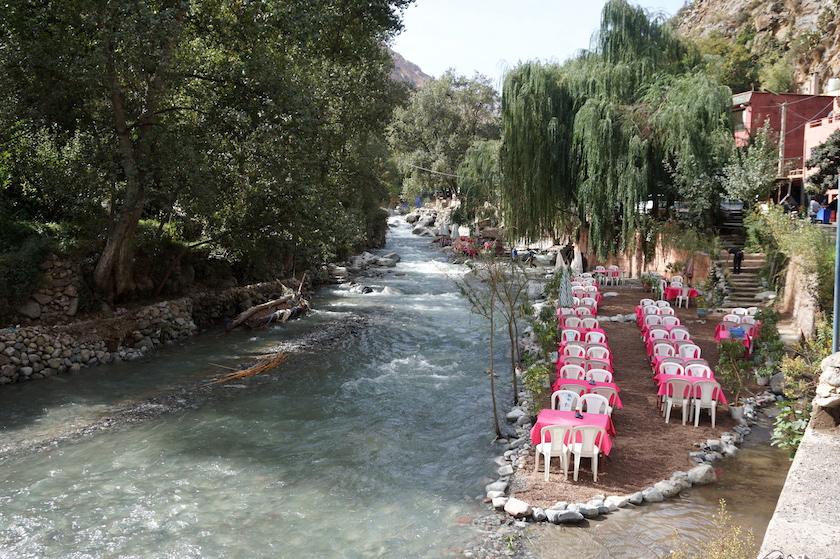 Setti Fatma Ourika Tal Marokko, Wanderung