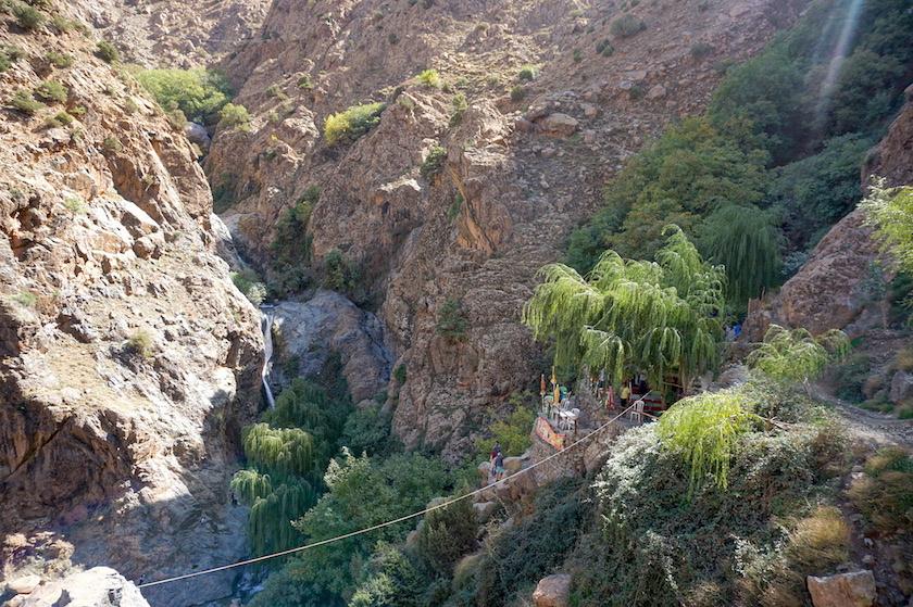 Ourika Tal Marokko Wanderung