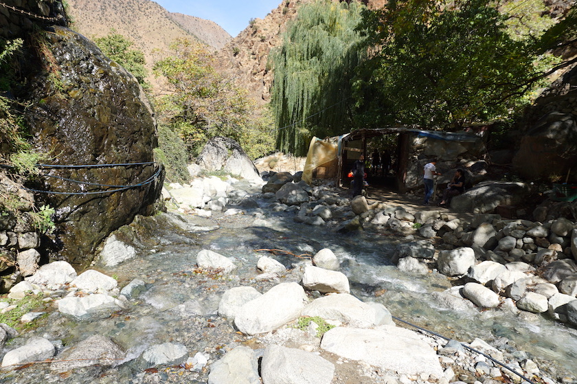 Asgaour Wasserfälle Marokko