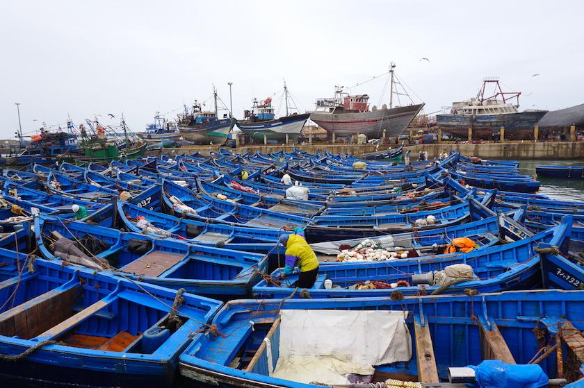 Essaouira Hafen, Marokko