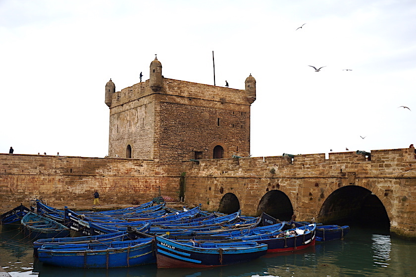 Essaouira Stadtmauer, Marokko