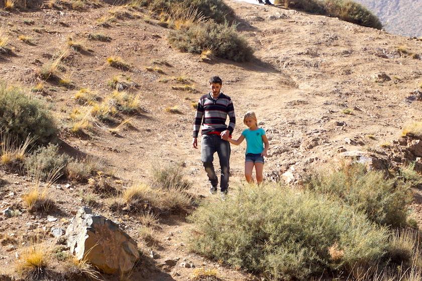 Marokko Ourika Tal Wanderung