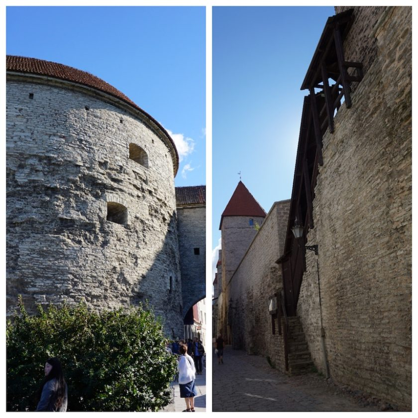 Tallinn Altstadt Stadtmauer Wehranlagen