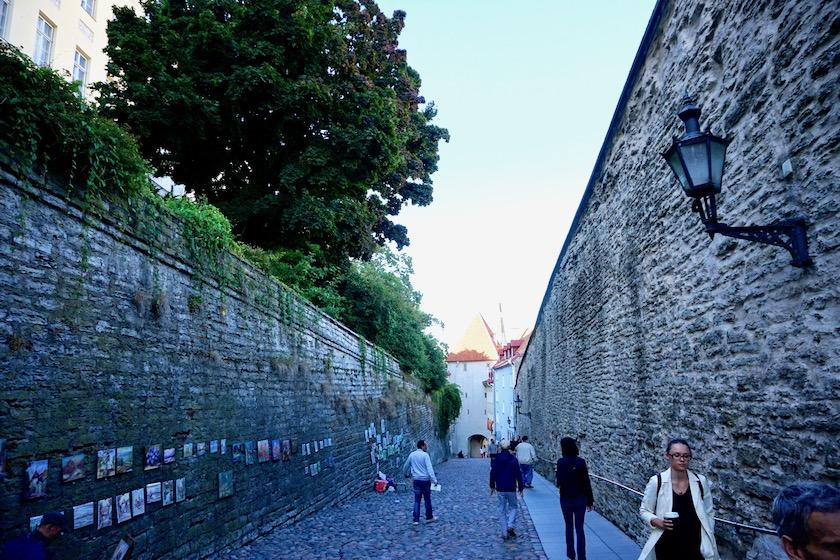 Tallinn Altstadt Stadtmauer