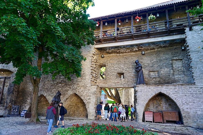 Tallinn Stadtmauer Cafe