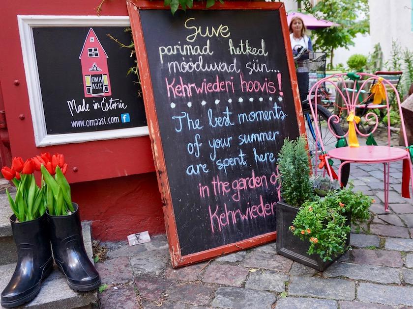 Tallinn, Cafe Altstadt