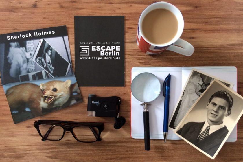 Escape Berlin Sherlock Holmes Live Escape Game