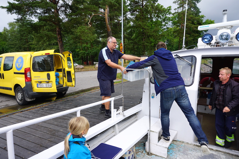 Västervik Postboot Schärenfahrt