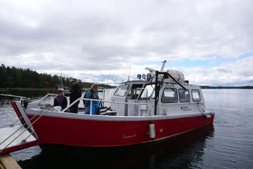 Västervik Schären Bootstour, Gränsökanal