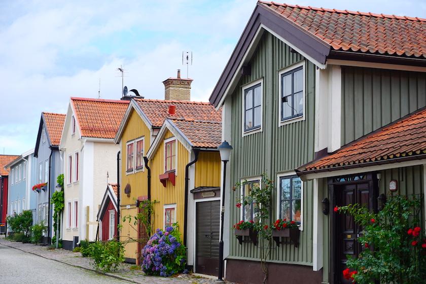 Västervik Schärenstadt Schweden