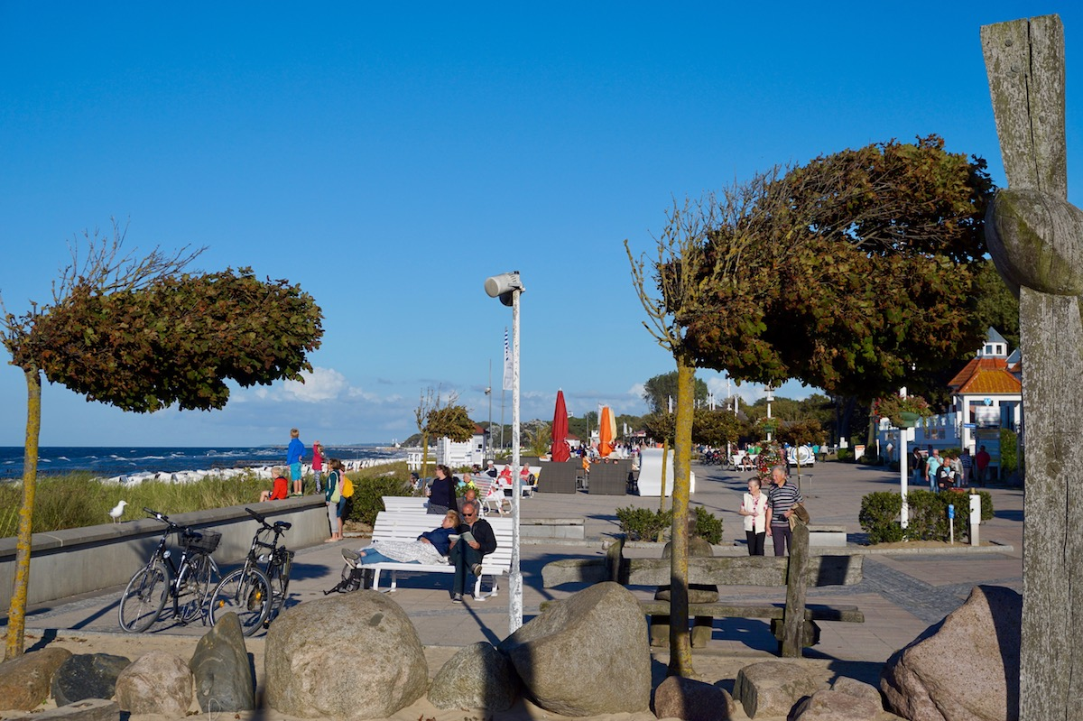 Kühlungsborn West Strandpromenade
