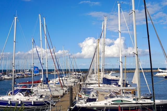 Yachthafen Kühlungsborn Ostsee