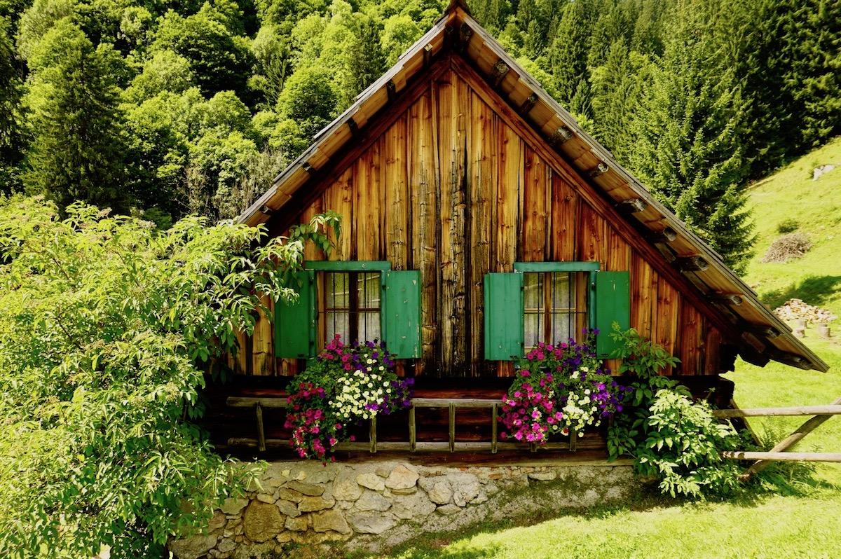 Österreich Steiermark Alm