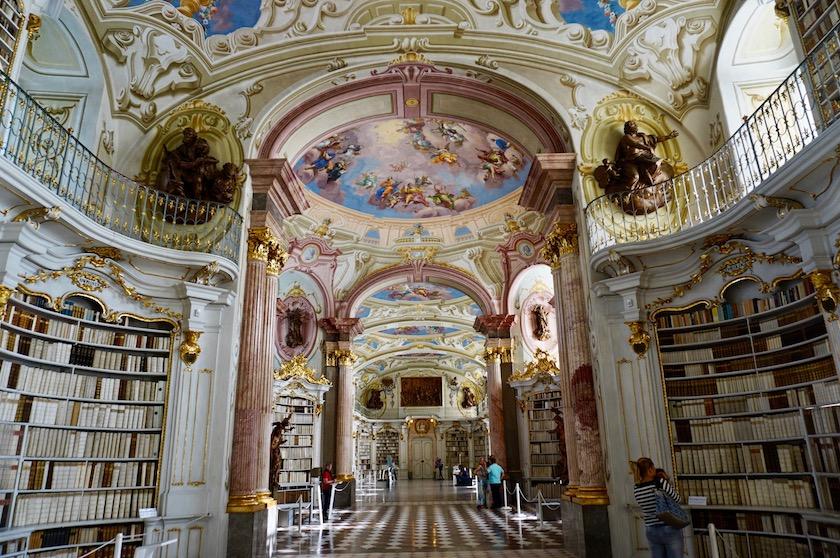 Admont Kloster Bibliothek