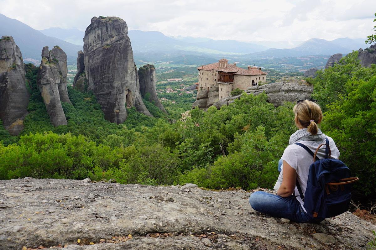 Meteora Klöster Griechenland