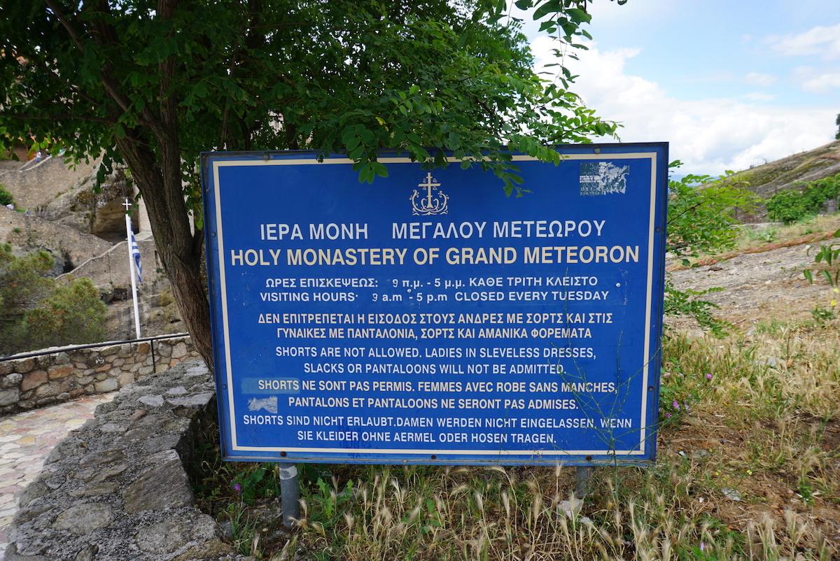 Meteora Kloster Grand Meteora
