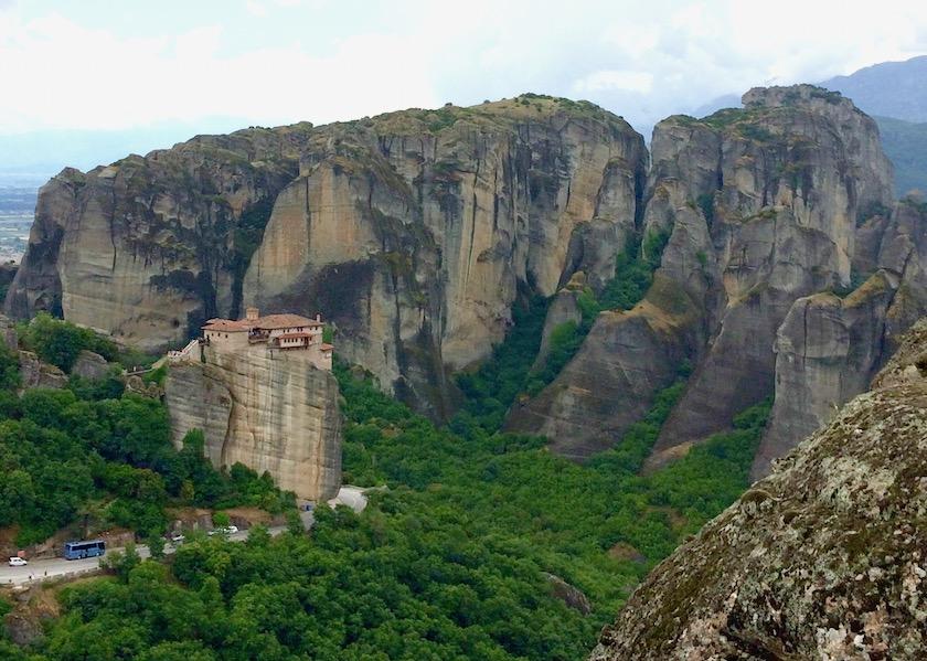 Meteora, Kloster Roussanou