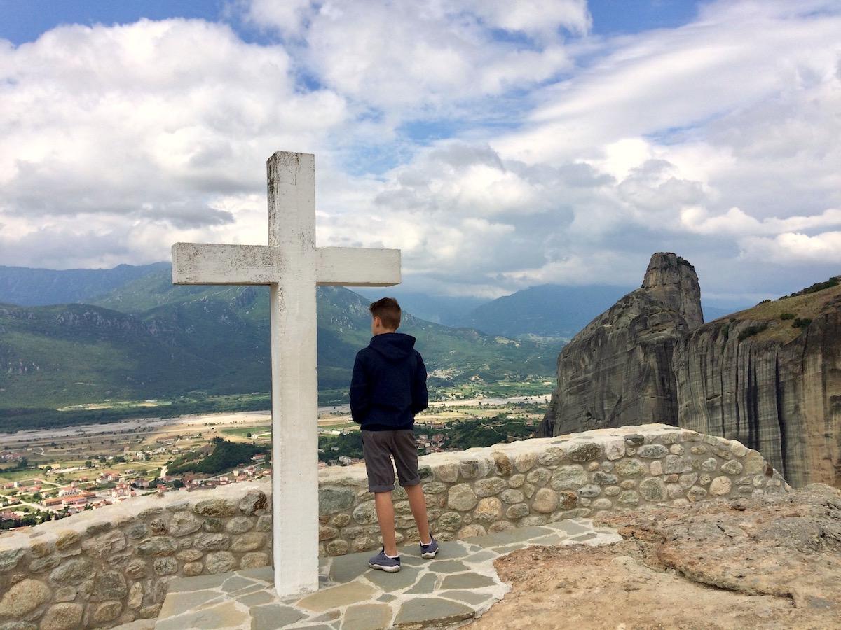 Meteora, Kloster Agia Triada
