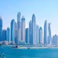 Ausblick von unserem Hotel in Dubai