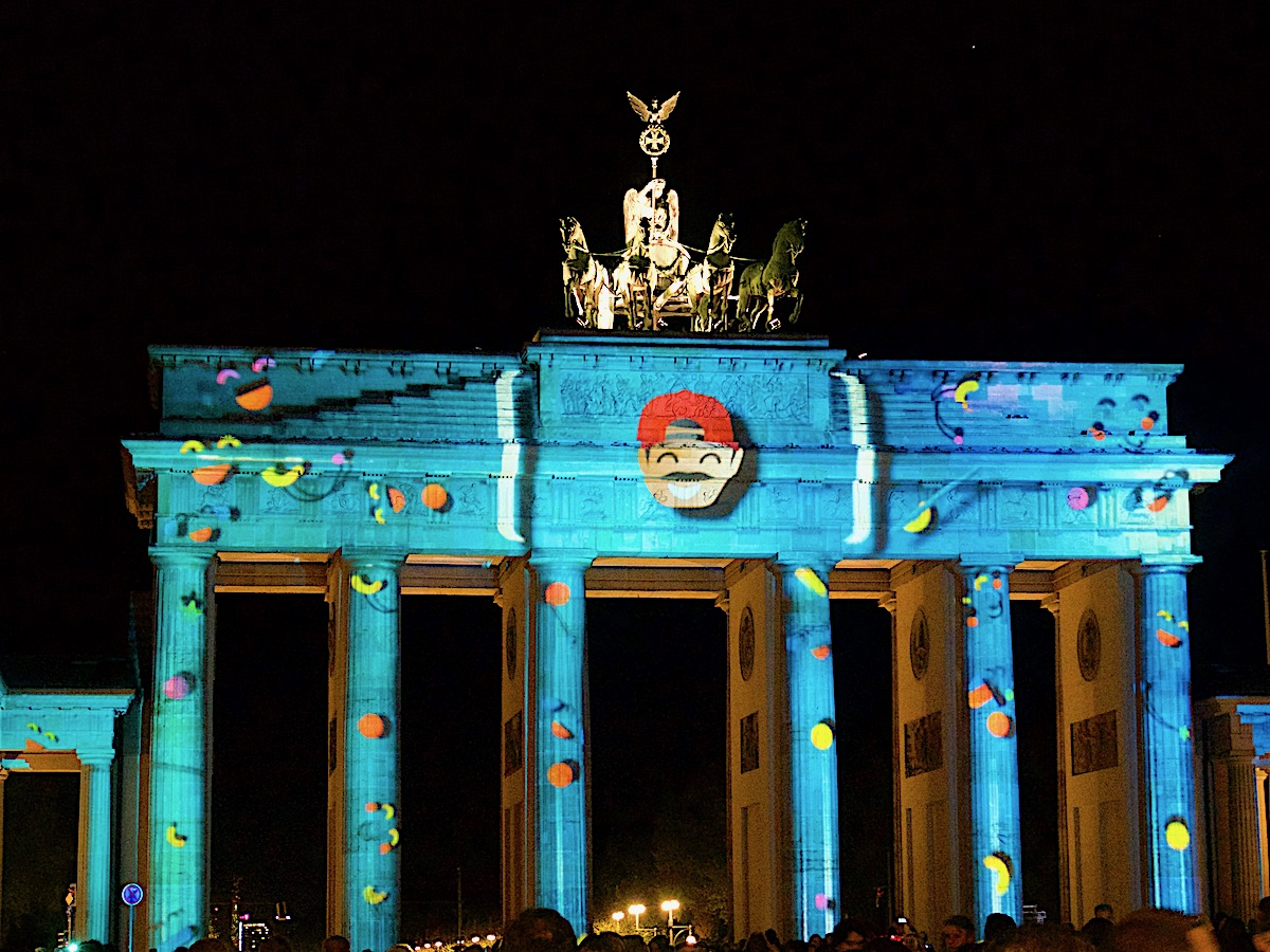 Festival of Lights Berlin, Brandenburger Tor