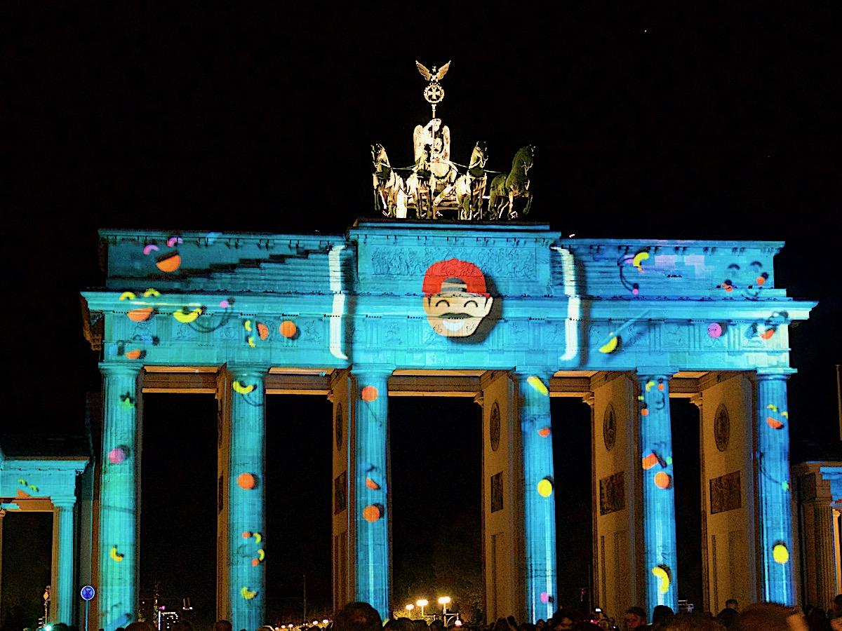 Festival of Lights Berlin, Brandenburger Tor