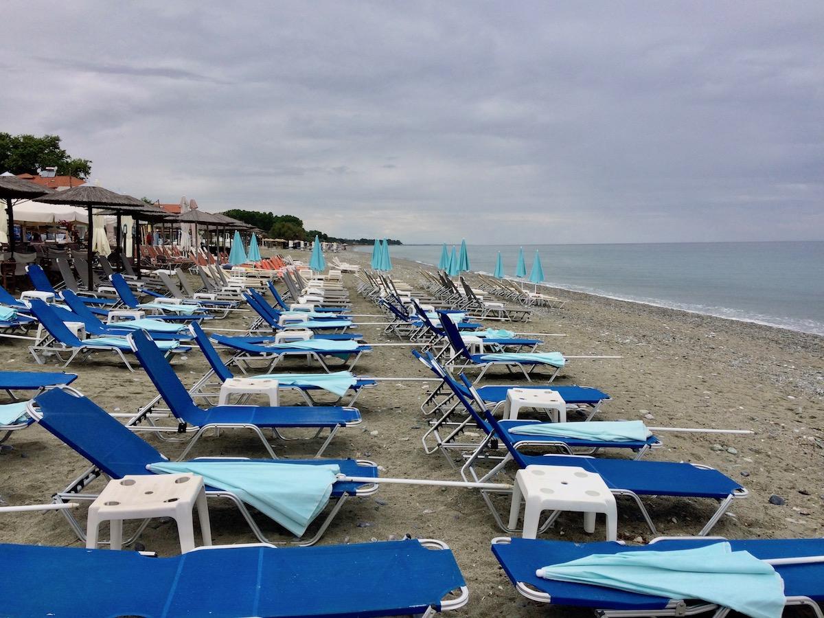 Olympische Riviera Griechenland