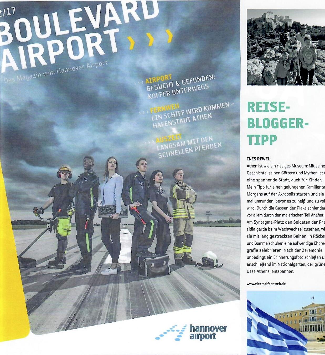 Reiseblog Viermal Fernweh in den Medien