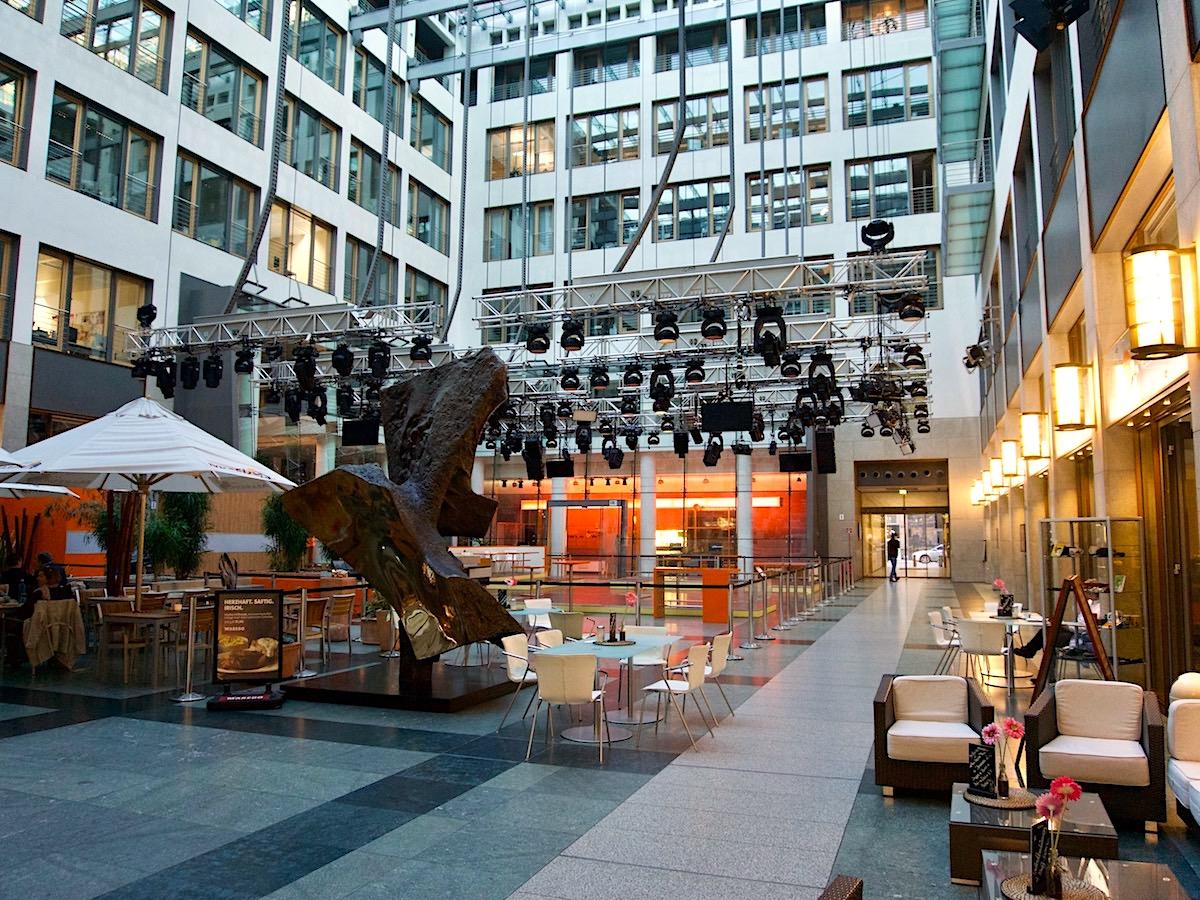 Atrium ZDF Hauptstadtstudio