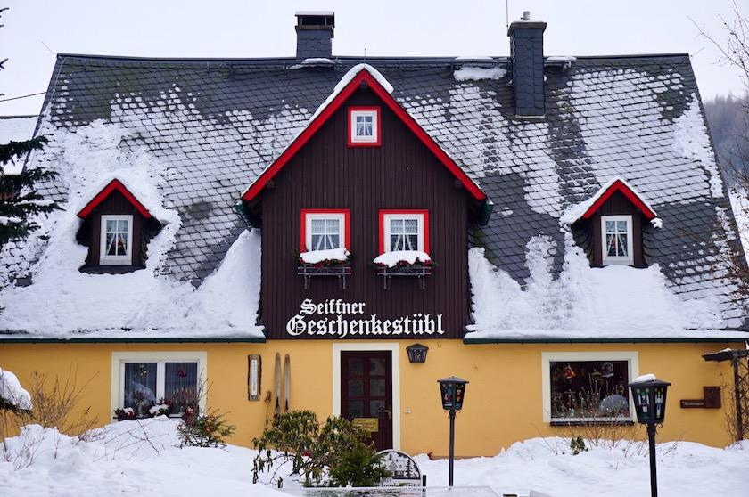 Erzgebirge im Winter, Seiffen