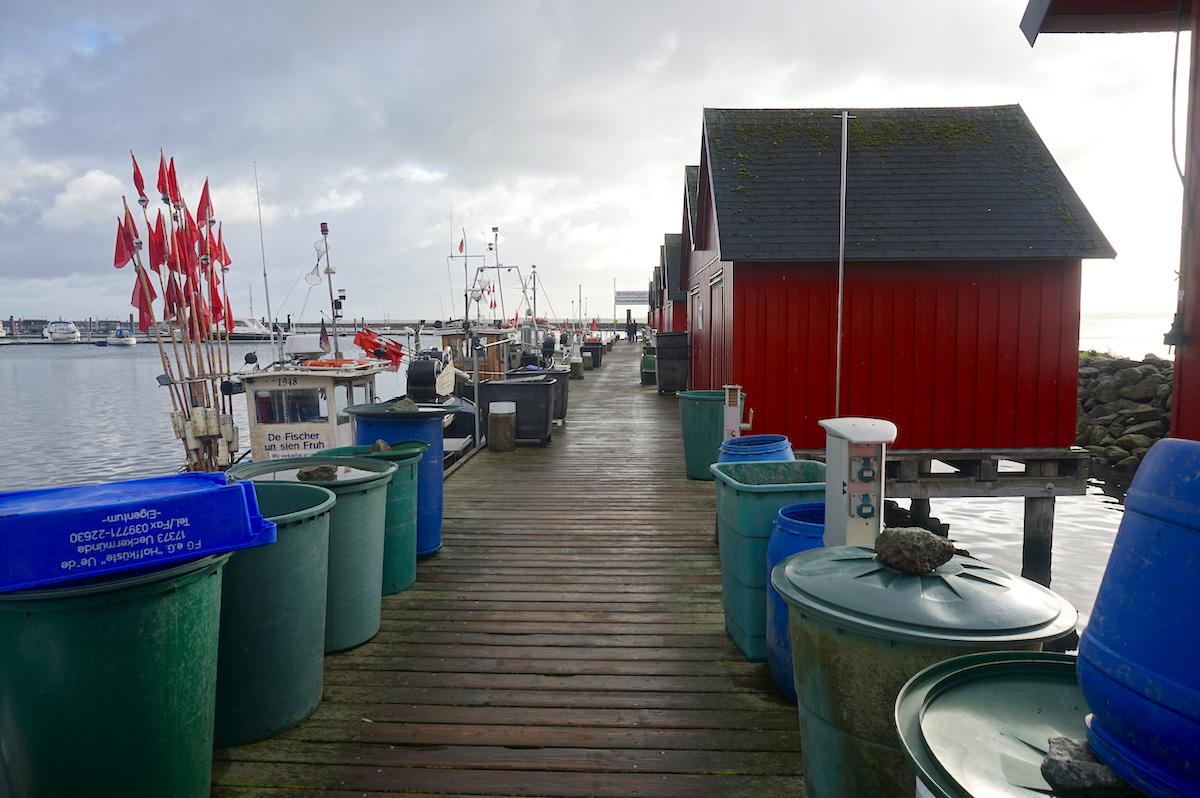 Fischereihafen Weiße Wiek Boltenhagen, Ostsee