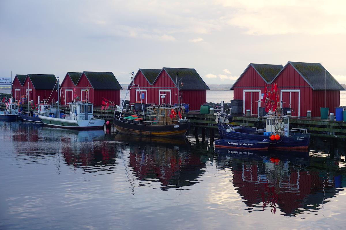 Ostsee Fischereihafen Weiße Wiek Boltenhagen