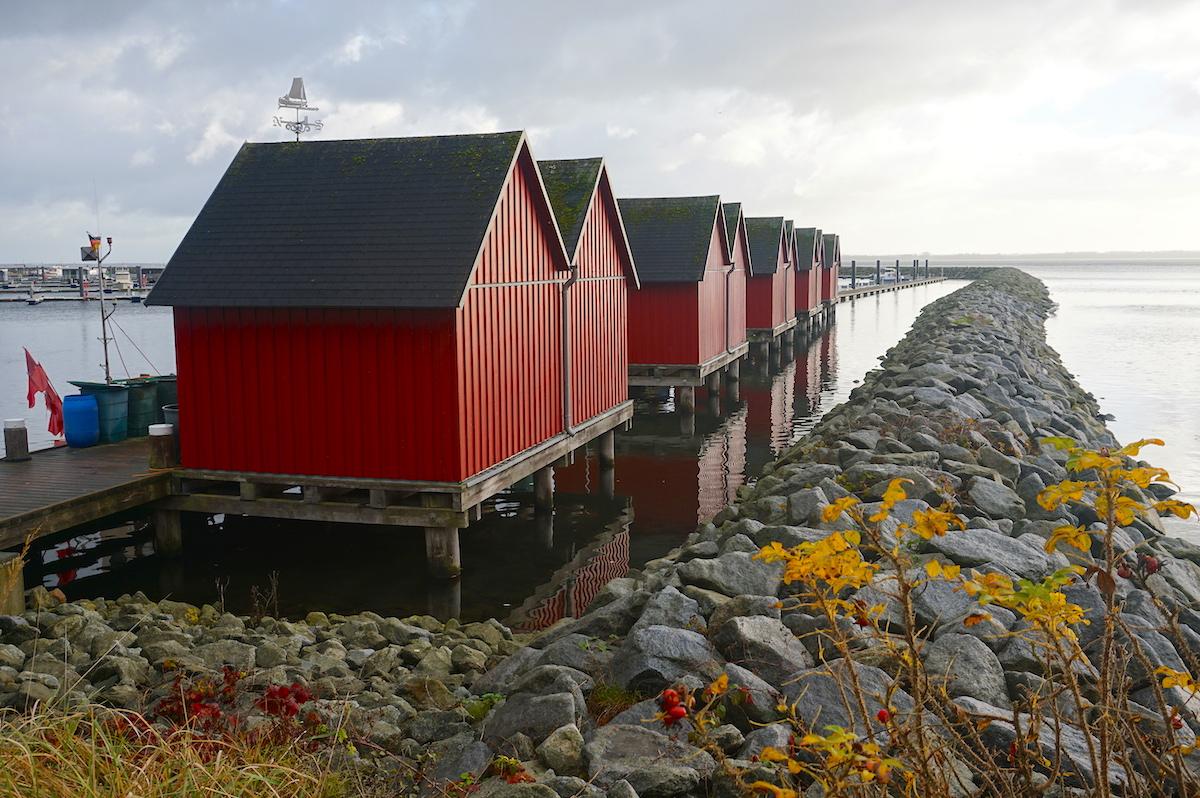 Ostsee Fischereihafen Weiße Wiek