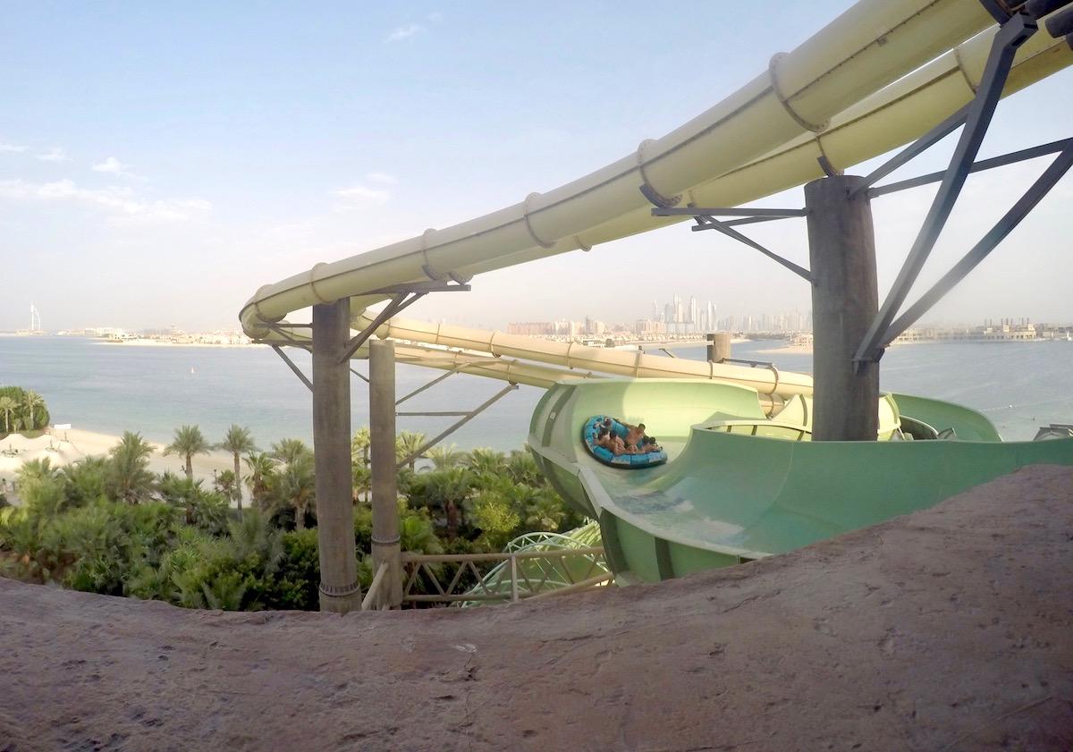 Dubai mit Kindern, Wasserpark Atlantis