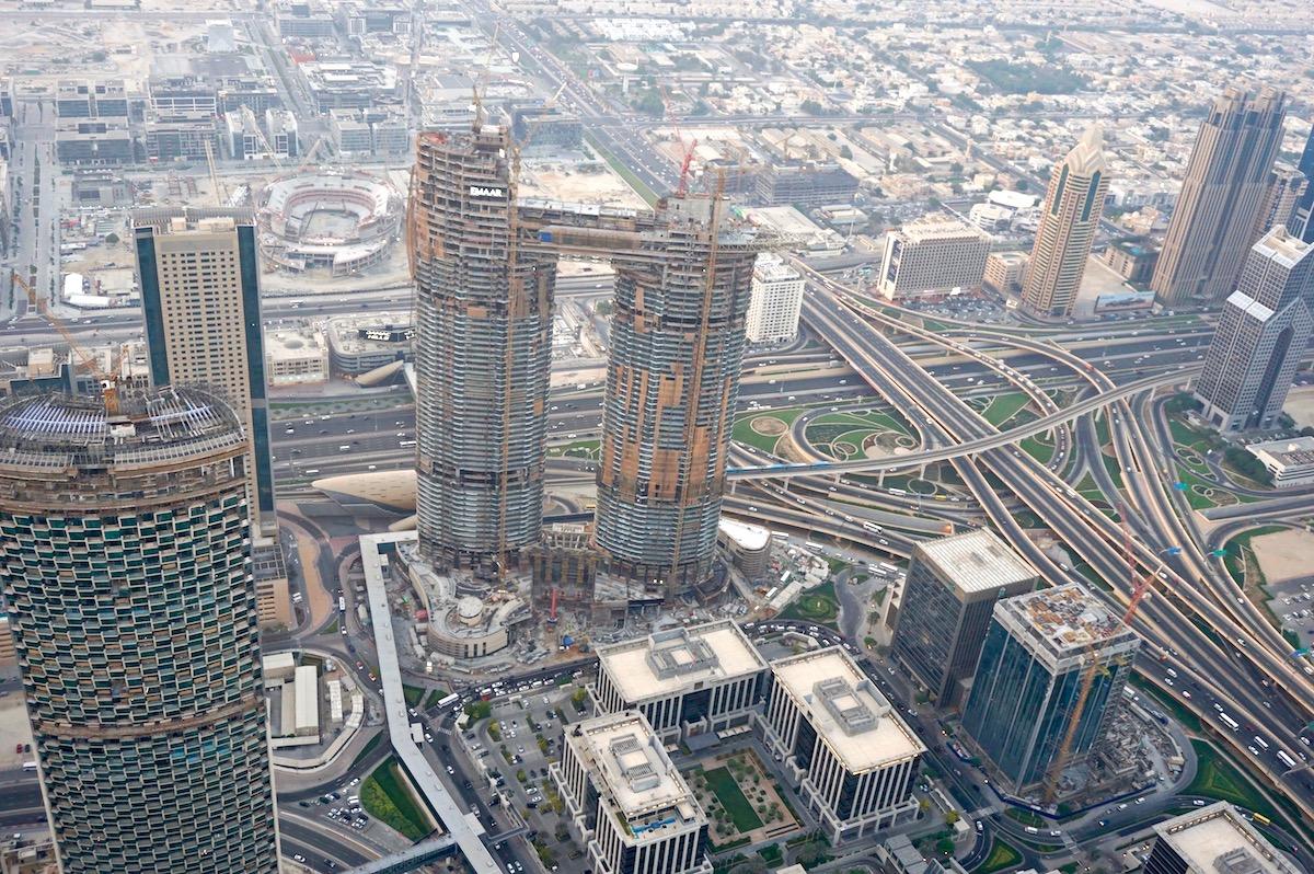 Dubai, Blick vom Burj Khalifa
