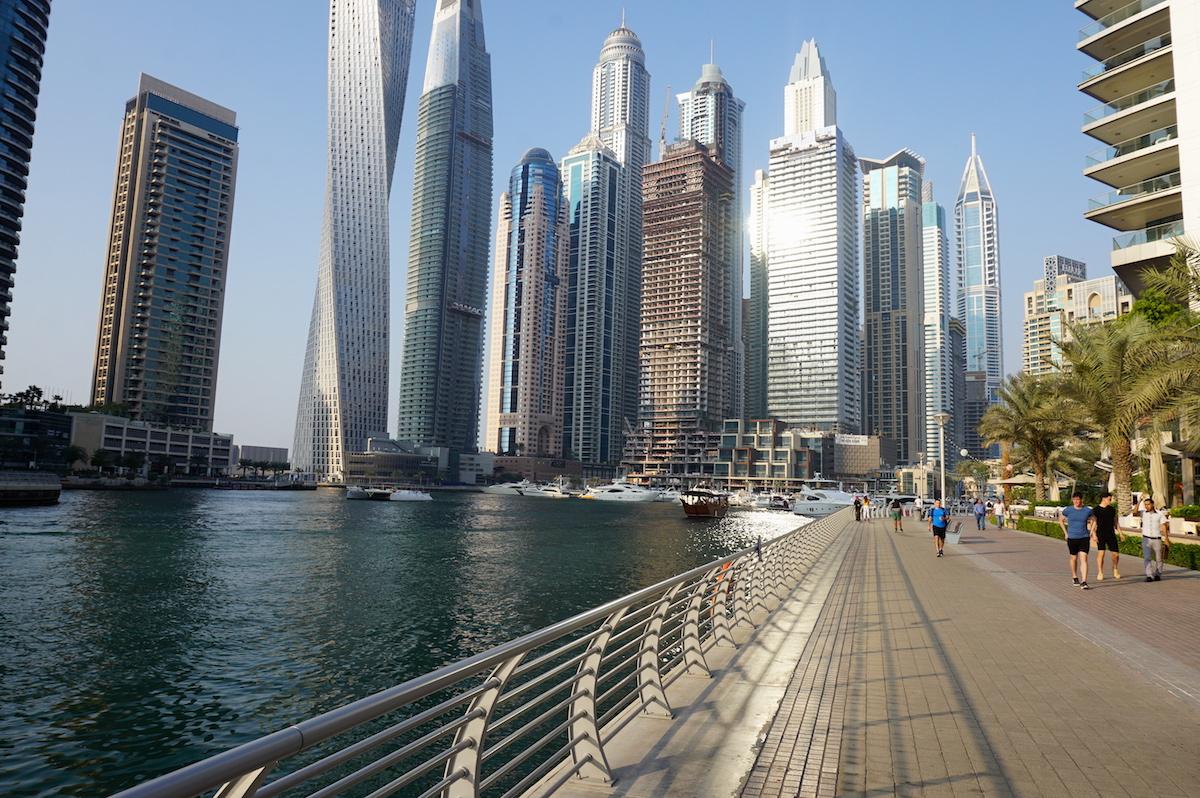 Dubai Marina, Promenade The Walk