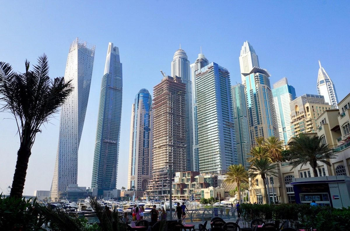 Dubai Marina, Flaniermeile_The Walk