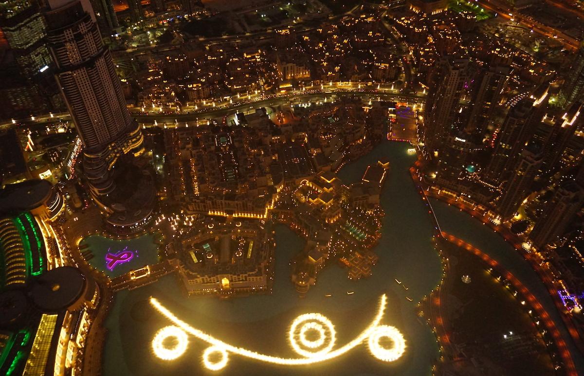 Dubai mit Kind, Wassershow am Burj Khalifa