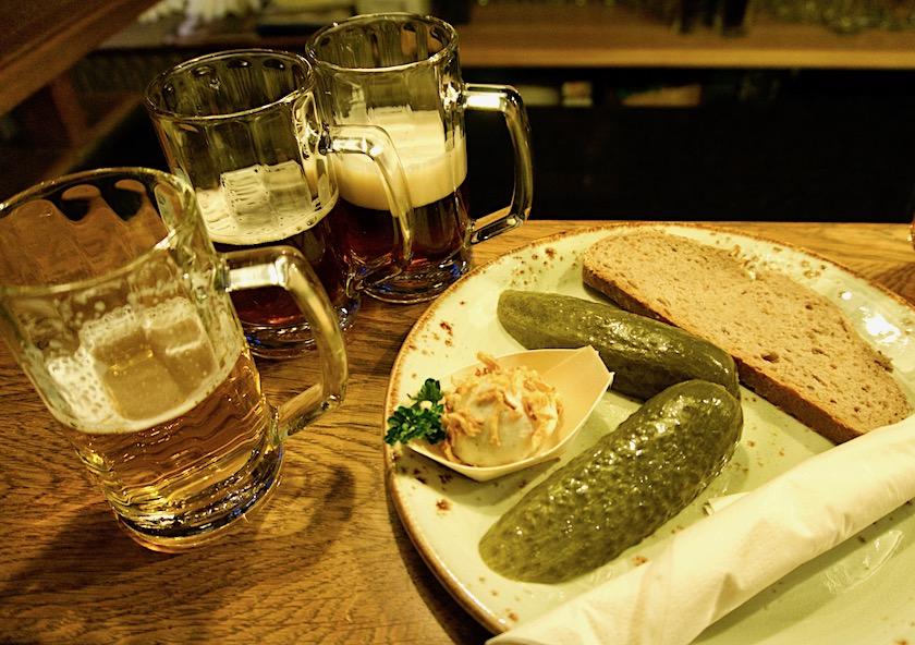 Brauhaus Seinerzeit Schlepzig, Bierverkostung
