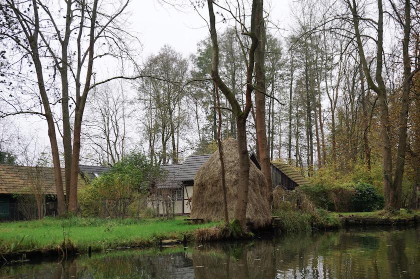 Spreewald Kahnfahrt im Winter