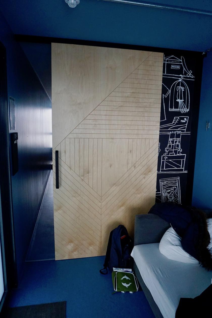 Container Hostel DOCK INN Doppelzimmer