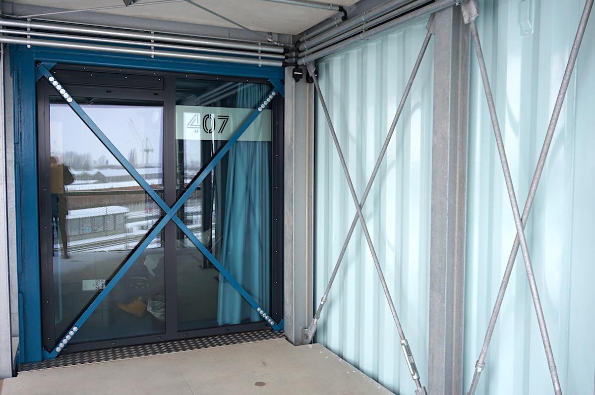 DOCK INN Containerhostel Warnemünde Doppelzimmer