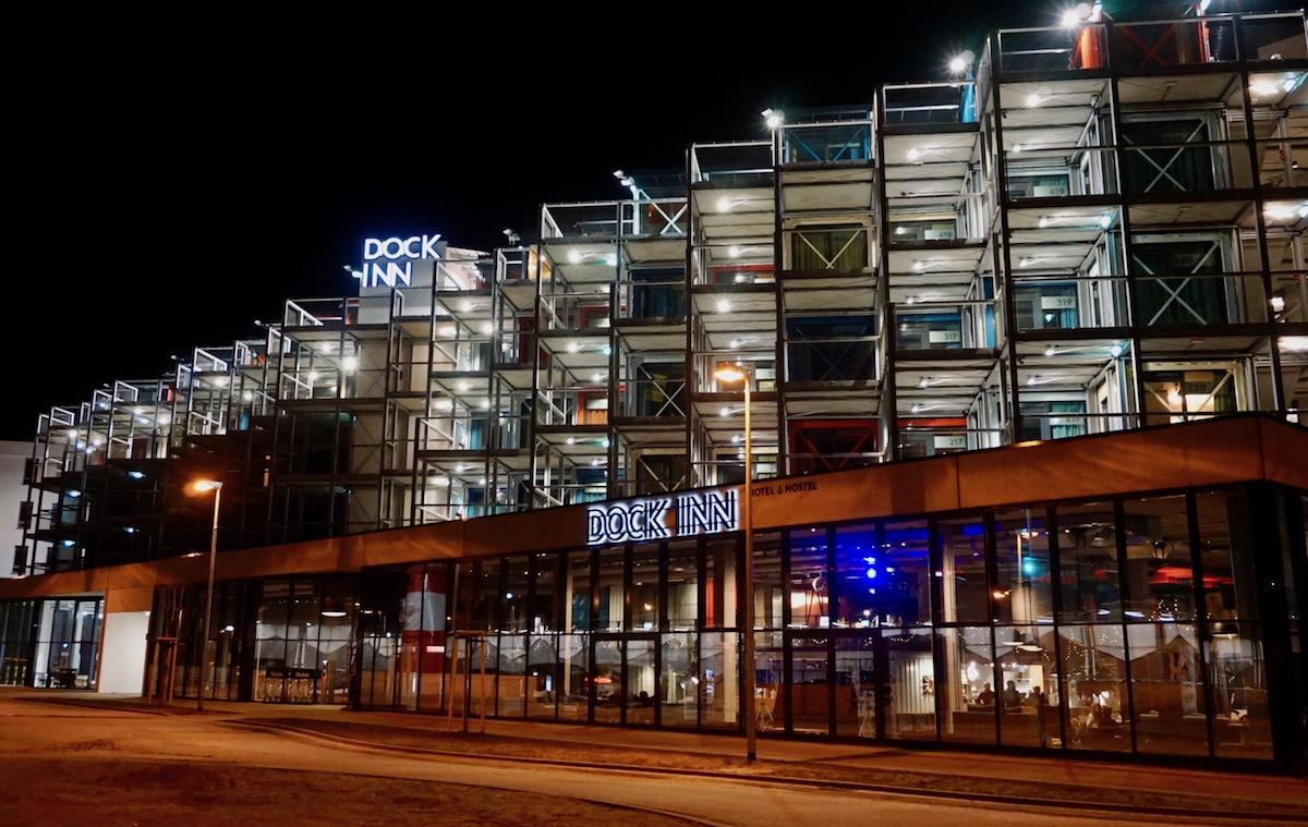 Containerlove im dock inn eine nacht im berseecontainer for Designhotel brandenburg
