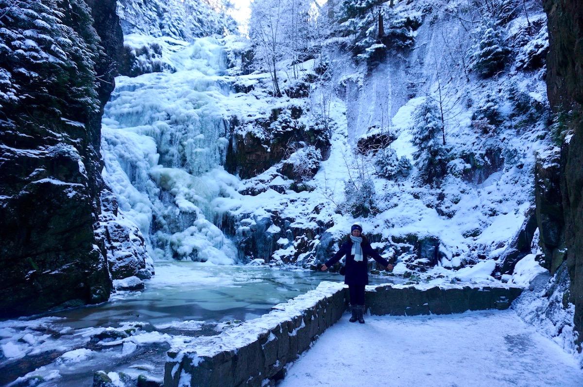 Zackenfall Riesengebirge Polen