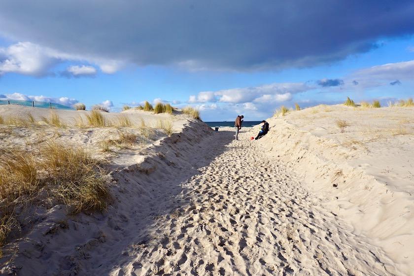 Mecklenburg-Vorpommern, Warnemünde Strand, Ostsee